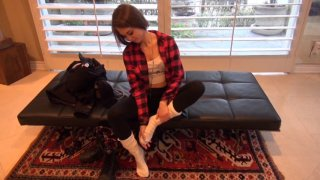 Streaming porn video still #4 from ATK Virtual Date With Riley Reid