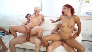 Streaming porn video still #8 from Orgy Frenzy 2