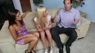 Streaming porn video still #1 from Couples Seeking Teens 5
