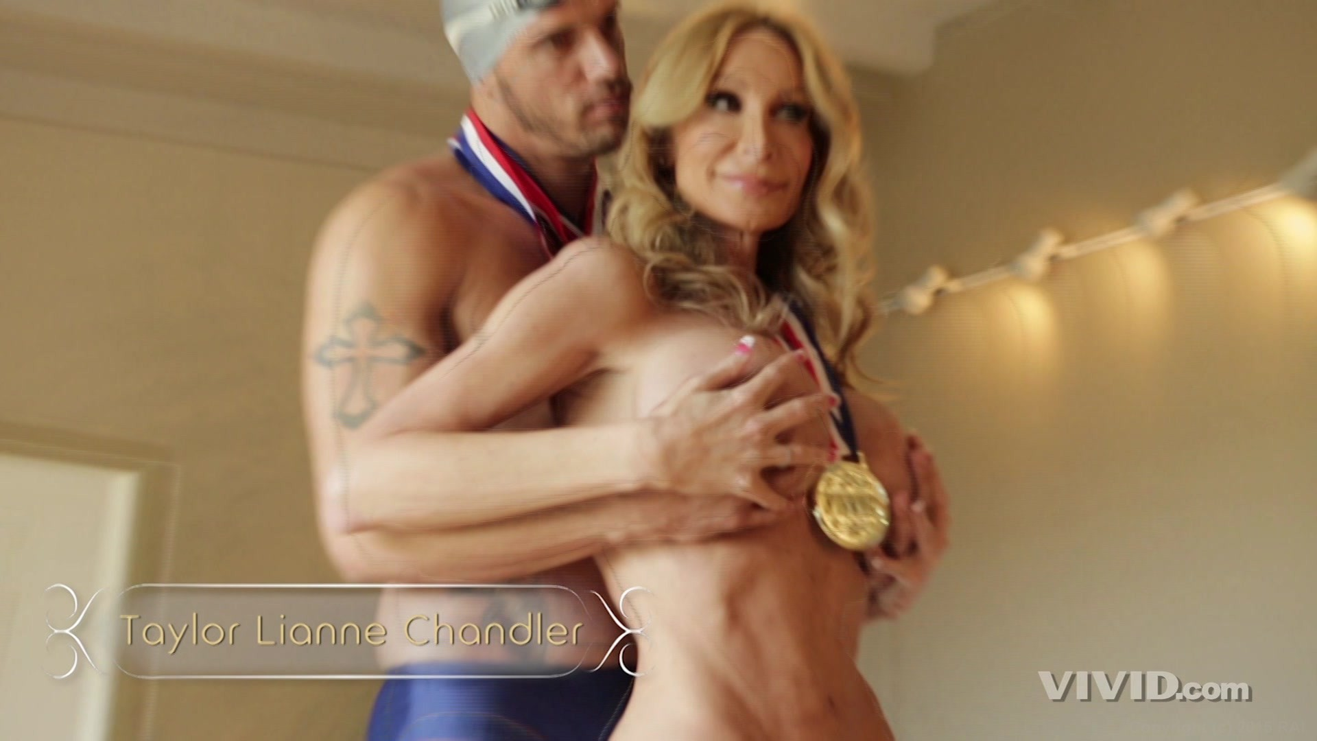 Hair video medal gold adult