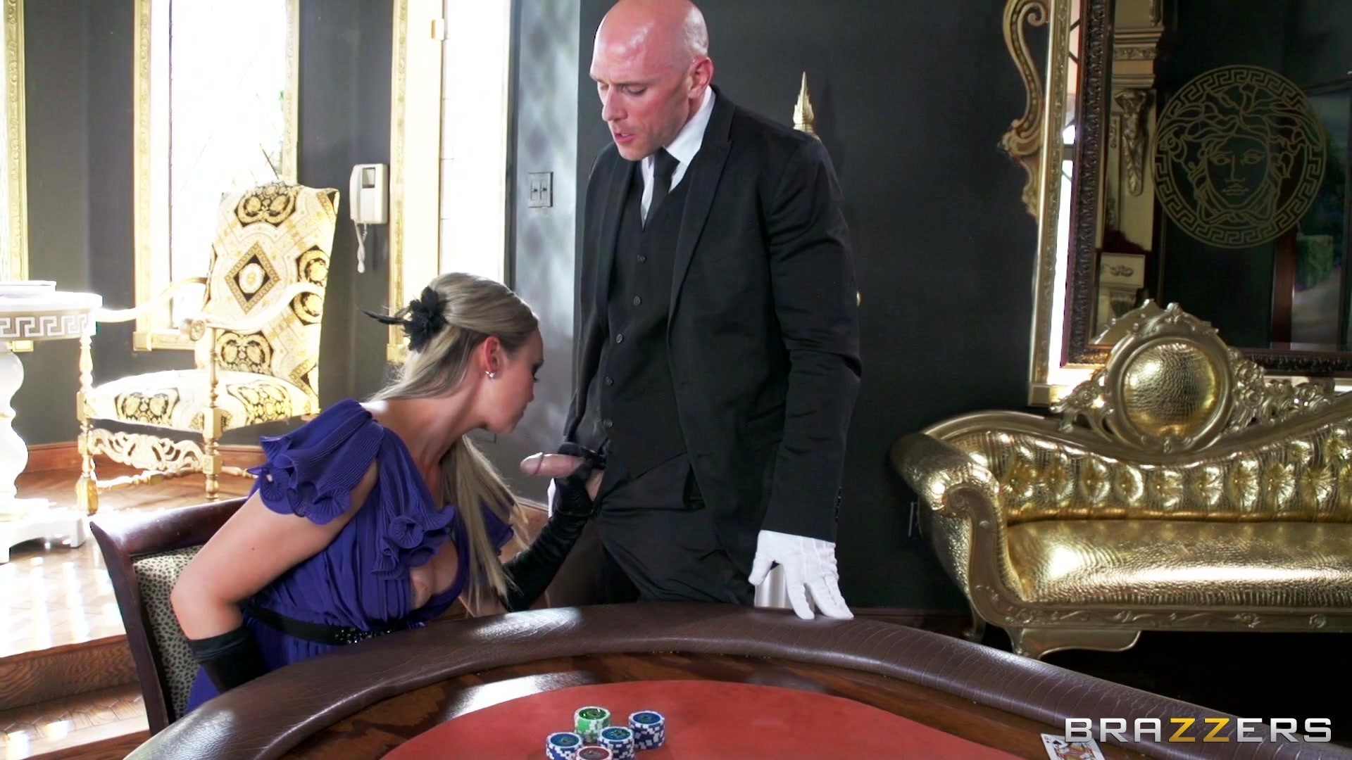 Milf gets some cock at the casino