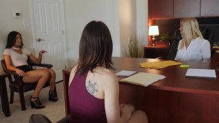 Streaming porn video still #1 from Lesbian Legal Part 13