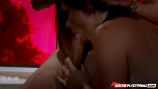 Streaming porn video still #6 from Hot Chicks Big Fangs