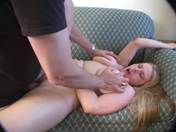 Blonde With Huge Tits Fucked We Apprehended