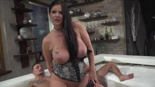 Streaming porn video still #4 from Rocco Siffredi Hard Academy Part 5 . . . Goes Live