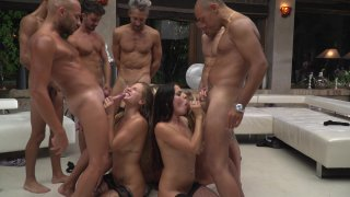 Streaming porn video still #9 from Rocco Siffredi Hard Academy Part 5 . . . Goes Live