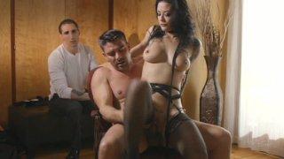 Streaming porn video still #7 from Bound To Cum