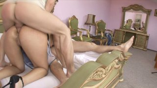Streaming porn video still #7 from Brothers Fucking Their Stepsister #11