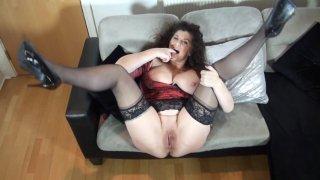 Streaming porn video still #5 from Mature British Lesbians #6