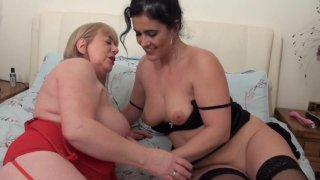 Streaming porn video still #4 from Mature British Lesbians #6