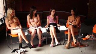 Streaming porn video still #7 from Secret Lesbian Diaries 3: Writing School