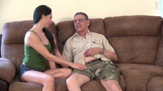 Streaming porn video still #3 from Weekends At Grandpas 3