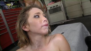 Streaming porn video still #12 from Gangbang Her Little White Thang! 19