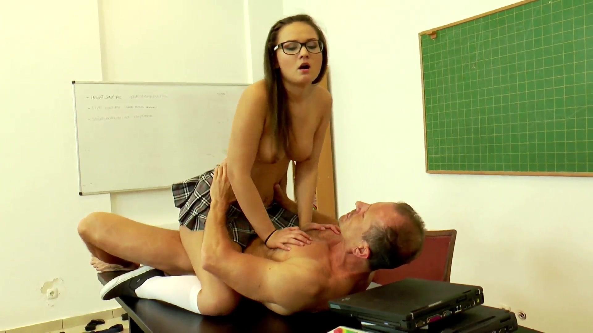 schoolgirl seduces teacher