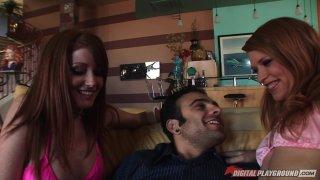 Streaming porn video still #19 from Three's Cumpany 2