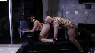 Streaming porn video still #1 from Filling Up The Babysitter