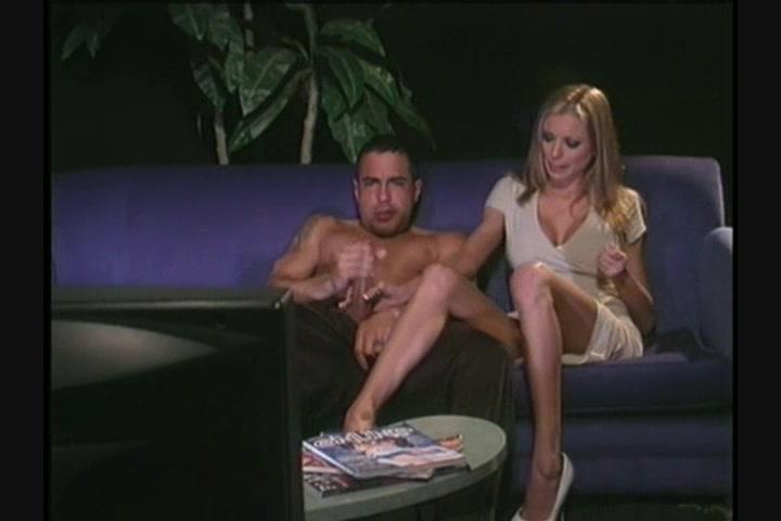 Sensual threesome couple porn