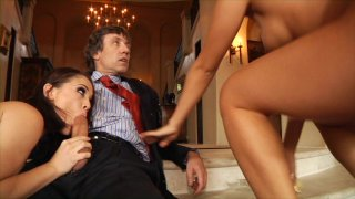 Streaming porn video still #2 from Threesome Addiction