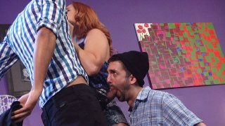 Streaming porn video still #2 from Kinky Cuckold Gangbang 3