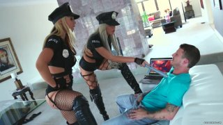 Streaming porn video still #1 from Busty Cops On Patrol 2