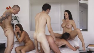 Streaming porn video still #10 from Cougar Orgy