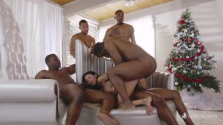 Streaming porn video still #7 from Interracial Fantasies