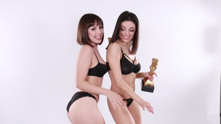 Streaming porn video still #2 from Lesbian Performers Of The Year 2018