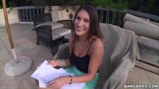 Streaming porn video still #20 from Girls Of Bangbros Vol. 72: August Ames