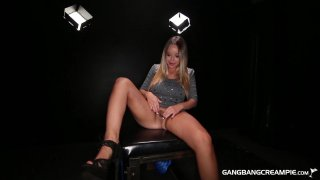 Streaming porn video still #2 from Gangbang Creampie First Timers Vol. 1