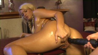 Streaming porn video still #7 from Wet & Oiled Nymphos