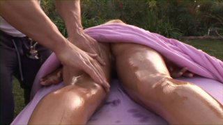 Streaming porn video still #2 from Wet & Oiled Nymphos