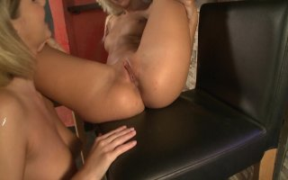 Streaming porn video still #6 from Busty Lesbian Adventures