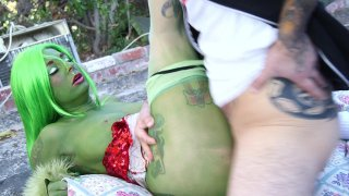 Streaming porn video still #4 from How The Grinch Gaped Christmas
