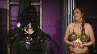 Streaming porn video still #1 from Perils of Slave Leia, The