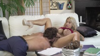 Streaming porn video still #2 from Lusty Busty MILFs On The Job
