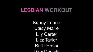 Streaming porn video still #5 from Lesbian Workout