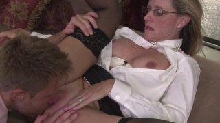 Streaming porn video still #8 from Mother-Son Secrets