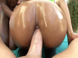 Streaming porn video still #8 from Black Anal Addiction #2