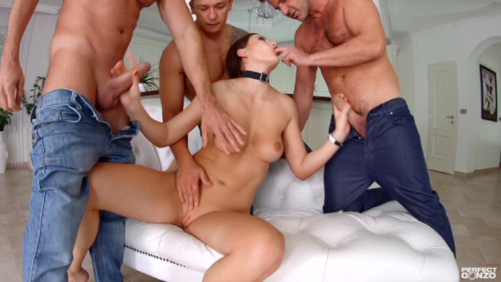 Only gonzo gangbang sex video mandy