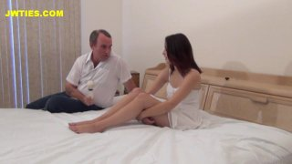 Streaming porn video still #4 from Deflower Me Daddy