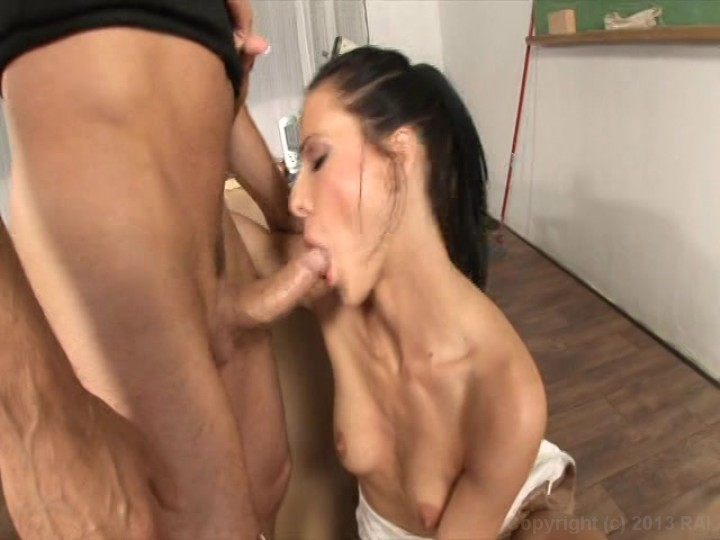 Student Getting A Disciplinary Blowjob And Anal Fuck