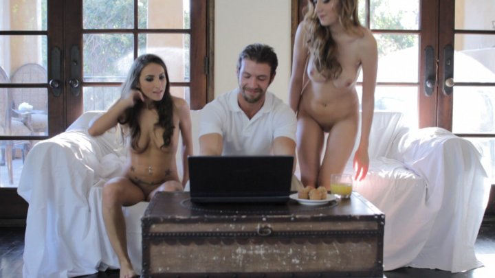 Streaming porn video still #4 from Threesome Fantasies Fulfilled