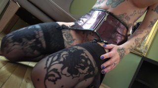 Streaming porn video still #4 from Inked & Anal