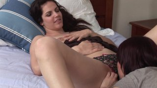 Streaming porn video still #2 from Bobbi Starr & Her Girlfriends
