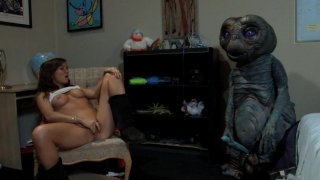 Streaming porn video still #9 from E.T. XXX: A Dreamzone Parody