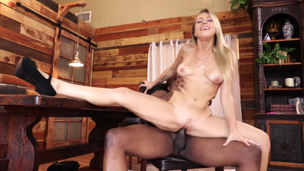 Sexy Blonde Zoey Monroe Enjoys Hard BBC in Her Tight Twat HD streaming porn video scene.