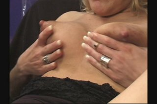 Streaming porn scene video image #5 from Hot busty sisters milking each other