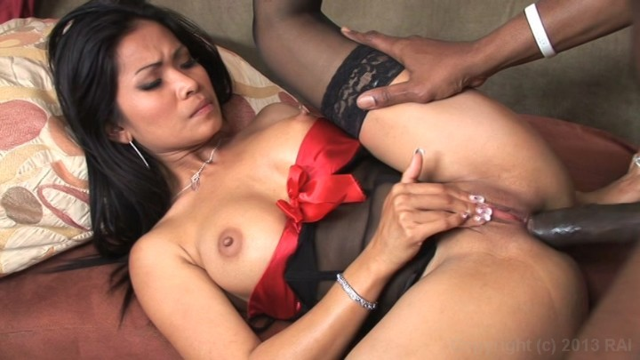 Lovely kina kai takes a big load on her face 9