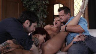 Streaming porn video still #3 from Swingers Orgy