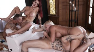 Streaming porn video still #10 from Swingers Orgy